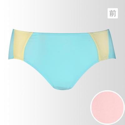 黛安芬-動生活運動系列平口配褲-M-EL-清甜粉