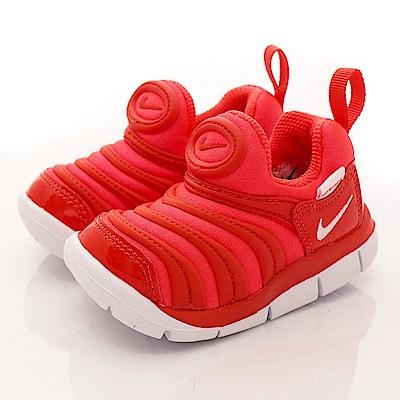 NIKE 毛毛蟲休閒童鞋 43938-624紅 (寶寶段)
