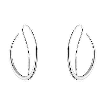 GEORG JENSEN 喬治傑生-OFFSPRING 設計師純銀耳環