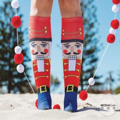 摩達客 美國進口 Living Royal 胡桃鉗 高筒襪及膝襪