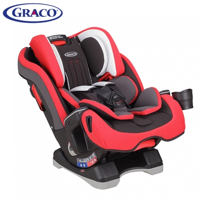 Graco 0-12歲長效型嬰幼童汽車安全座椅 MILESTONE 紅熊