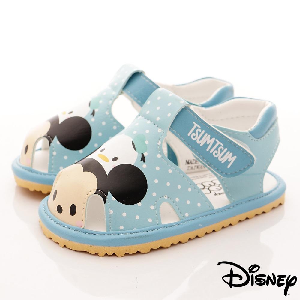 迪士尼童鞋 TSUMTSUM涼鞋款-FO18336藍(寶寶段)