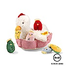 STEIFF德國金耳釦泰迪熊 - 計數遊戲 母雞帶小雞(嬰幼兒玩偶)
