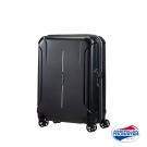 AT美國旅行者 20吋Technum防刮飛機輪TSA海關鎖行李箱(黑)