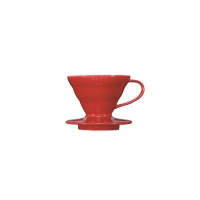 HARIO-V60紅色01磁石濾杯1~2杯 / VDC-01R