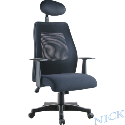 【NICK】高枕透氣網背主管椅(四色)