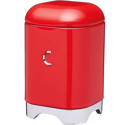 KitchenCraft Lovello咖啡收納罐(紅)