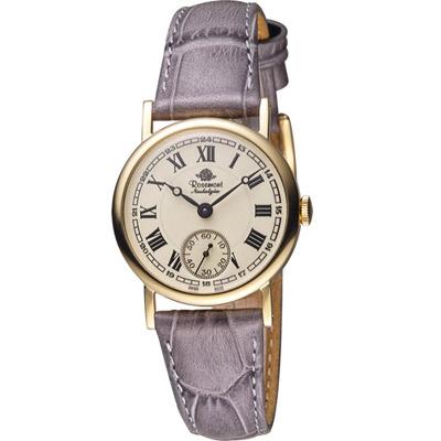 Rosemont 戀舊系列 經典復刻時尚腕錶 -灰色/33mm