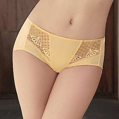 曼黛瑪璉 包覆提托經典  低腰平口萊克內褲(星鑽黃)
