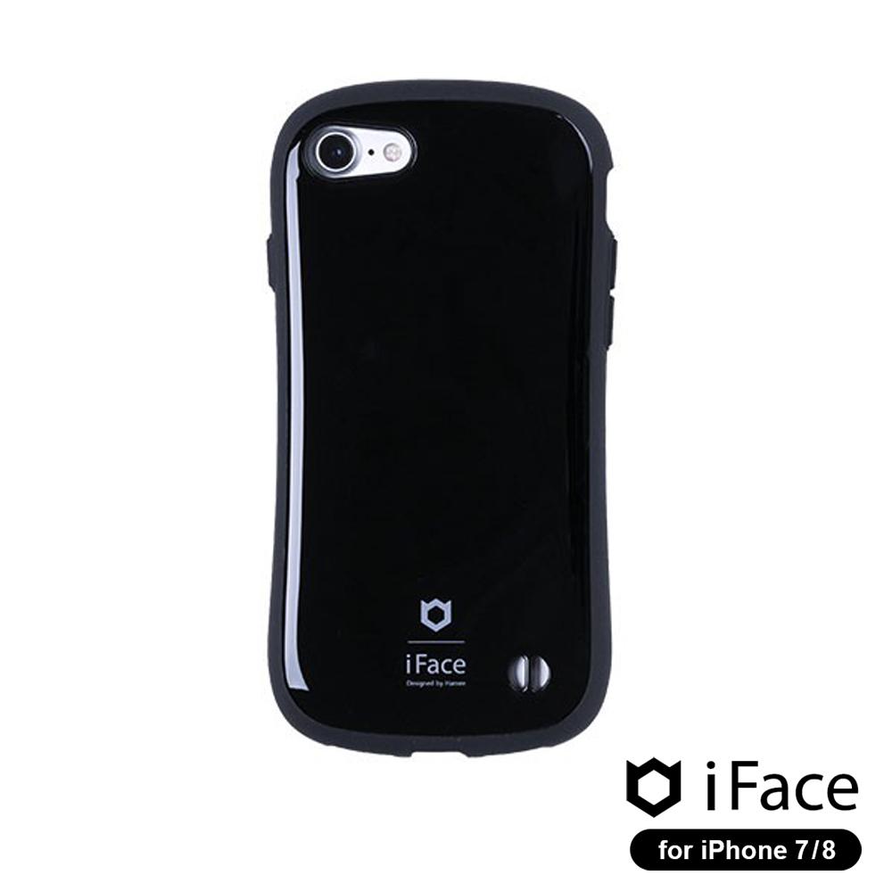 iFace First Class iPhone8/7 雙素材吸震抗衝擊手機殼▲經典色
