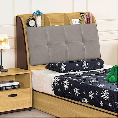 品家居 蘇菲3.5尺耐磨皮革單人床頭箱-107x30x114.3cm免組