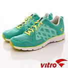 Vitro韓國專業運動品牌-Mode StepⅡ-頂級專業慢跑鞋-螢光綠(女)
