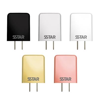 SSTAR 2.4A 雙USB AC充電器(TC-158)