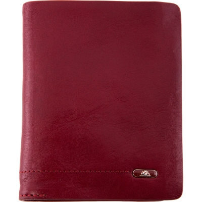 TONY PEROTTI 義大利公牛皮 無車縫系列 卡夾 ( 紅色 )