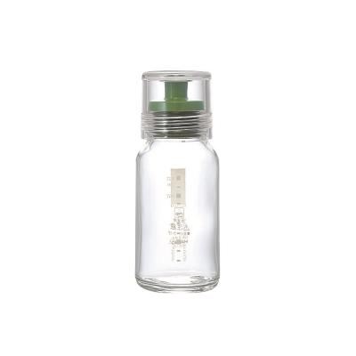 HARIO-斯利姆綠色調味瓶120ml / DBS-120G