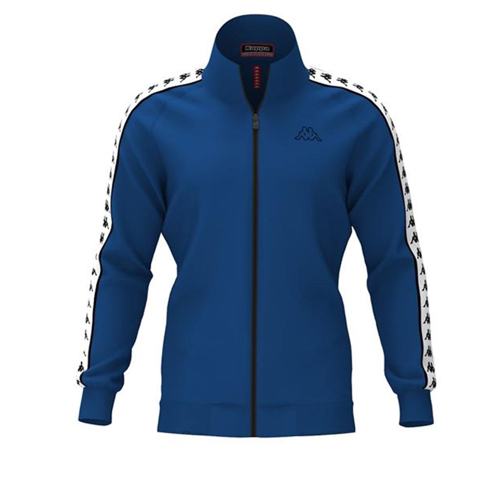KAPPA義大利時尚男慢跑運動外套合身版-寶藍