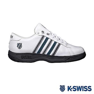 K-Swiss Eadall ll休閒運動鞋-男-白/藻綠/灰