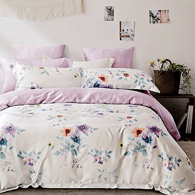 Lily Royal 60支頂級天絲 六件式兩用被床罩組 雙人 晨曦