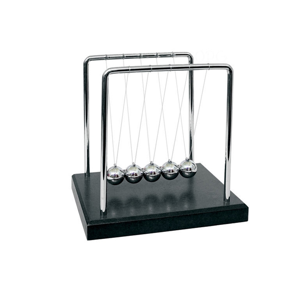 賽先生科學 牛頓球/慣性原理擺動球(冷酷黑)