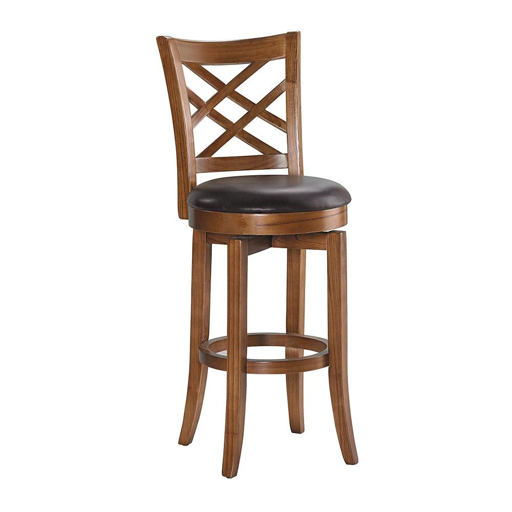 H&D 仿古色高吧椅 (寬42X深49X高110cm)