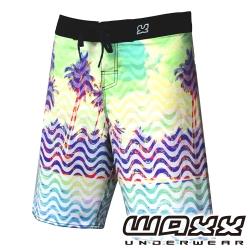 WAXX 熱帶系列-歡樂假期吸濕排汗男性衝浪褲