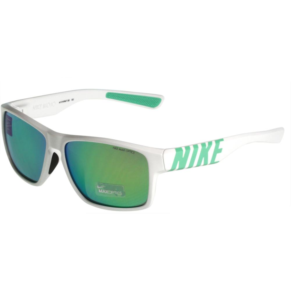NIKE-MOJO系列反光運動太陽眼鏡白色