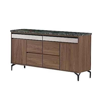 品家居 莎麗5.2尺石面餐櫃下座-156.5x41.5x80cm免組