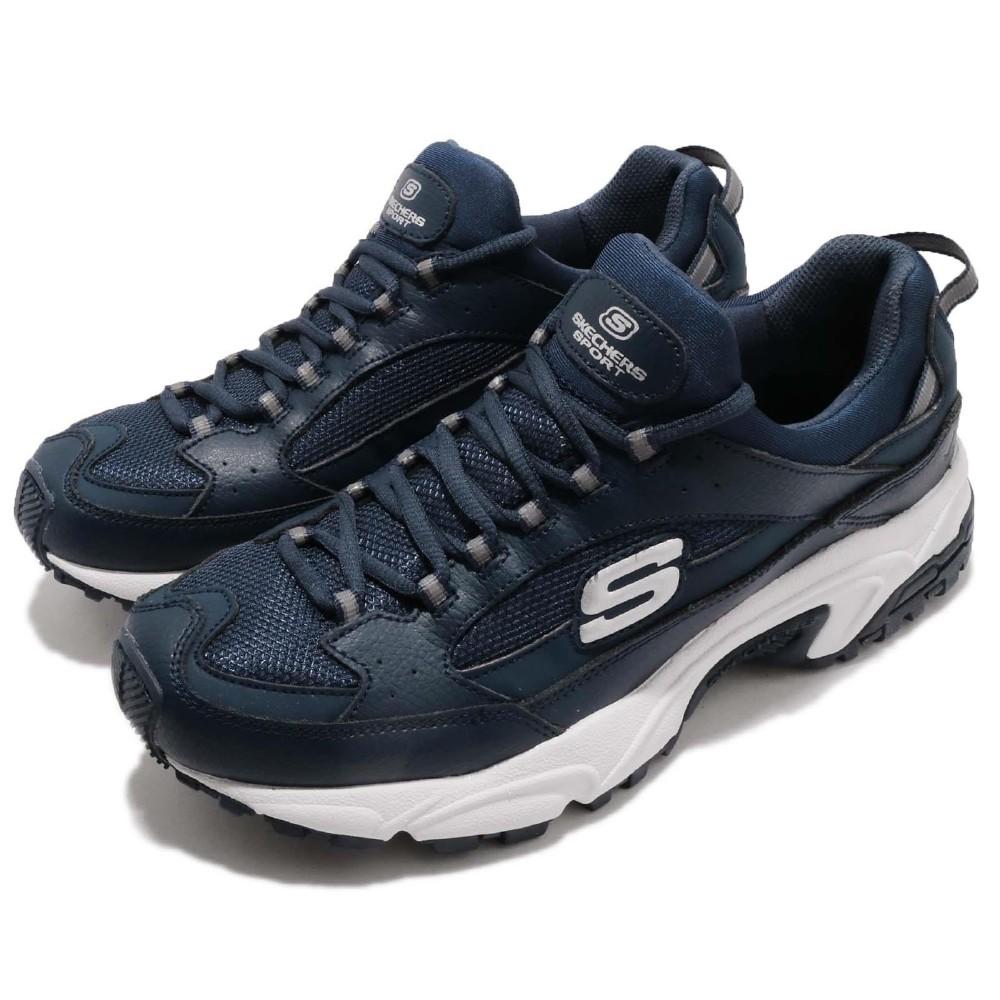 Skechers 休閒鞋 Stamina 復古 男鞋
