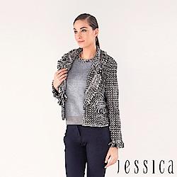 JESSICA - 經典魅力混羊毛造型外套