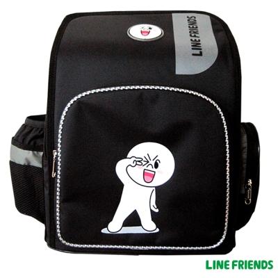 【LINE FRIENDS】MIT舒壓護脊後背書包(饅頭人 LI-5203)