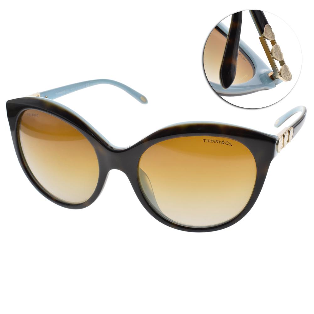 Tiffany&CO.偏光太陽眼鏡 典藏心意/琥珀棕#TF4133 8134T3