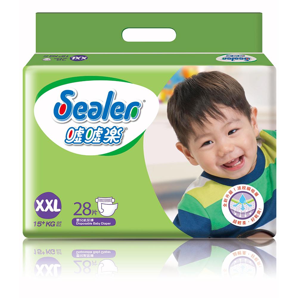 Sealer噓噓樂輕柔乾爽嬰兒紙尿褲XXL號(28片x8包/箱) @ Y!購物
