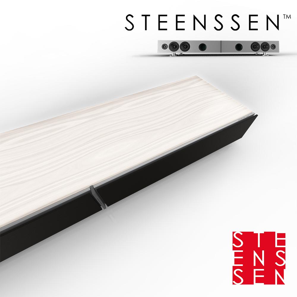 【丹麥 STEENSSEN】高階藍牙原音劇院系統-TT Grand王者震撼限定款(木紋白)