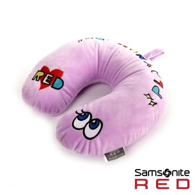 Samsonite RED新秀麗 Playnomore聯名限量款 頸枕(紫)