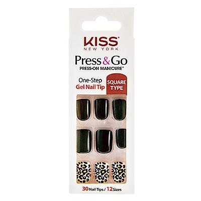美國 KISS New York-指甲貼片(PNG05K有品味的她)