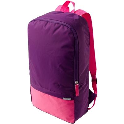 DESIGN GO 雙色輕便摺疊背包(紫11.2L)