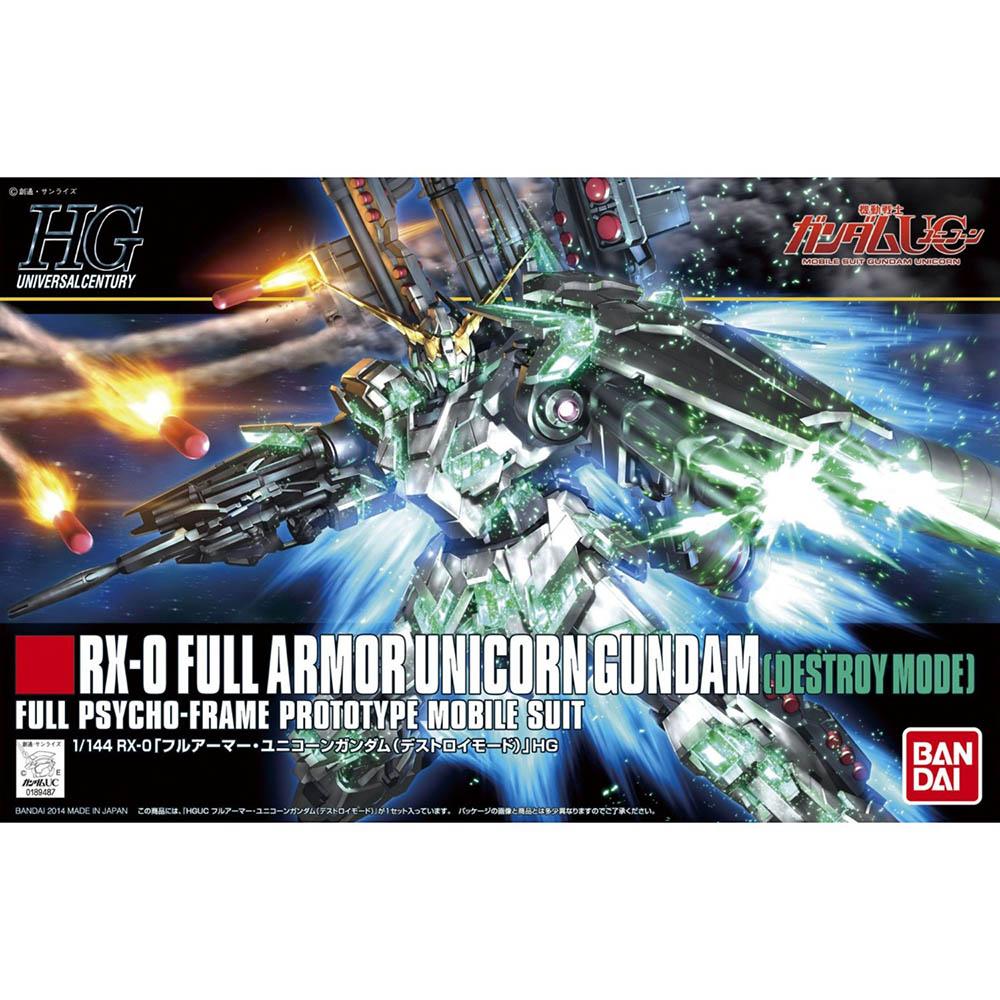 BANDAI 鋼彈UCHGUC1/144 全裝甲型獨角獸鋼彈(破壞模式) 178 @ Y!購物