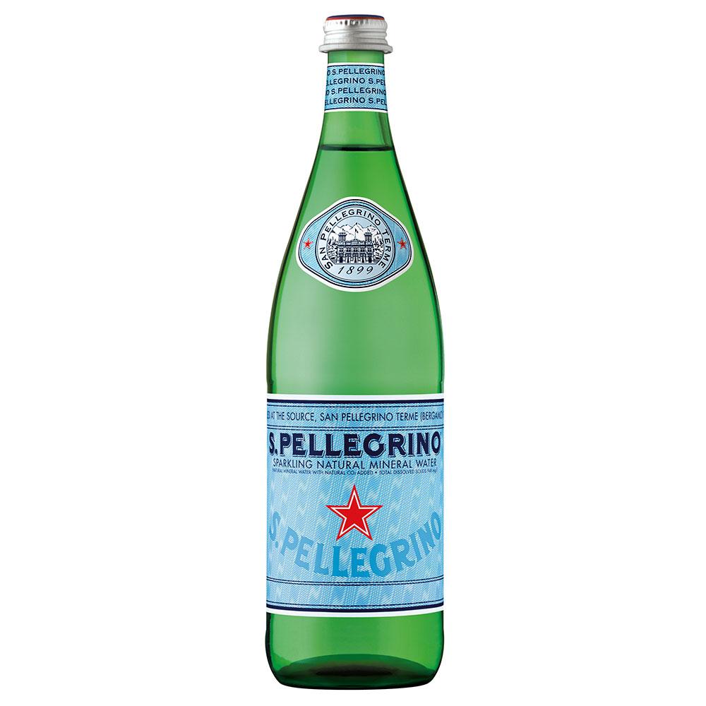 (活動)S.Pellegrino聖沛黎洛 天然氣泡礦泉水(750mlx12入)