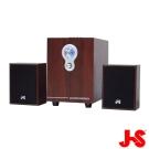 JS JY3080 2.1聲道全木質多媒體喇叭