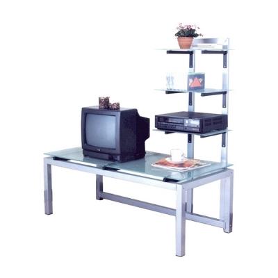 COLOR 多層架TV置物櫃(8mm強玻)