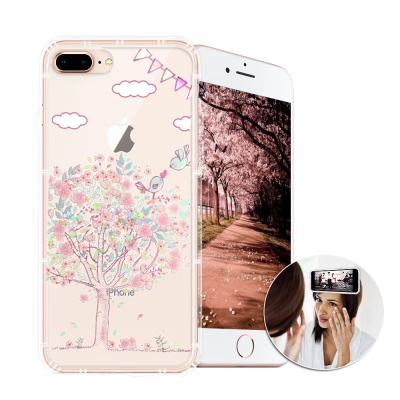 EVO反重力 iPhone 8 plus/iPhone 7 plus空壓手機殼(...