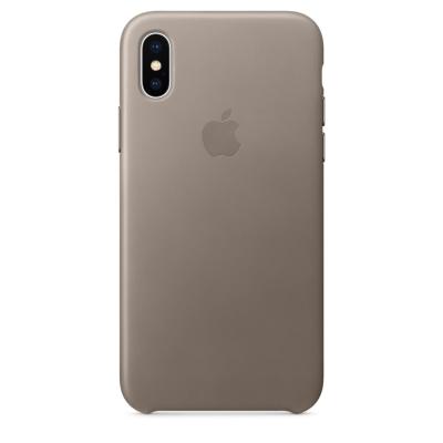 原廠 Apple iPhone X 皮革保護殼