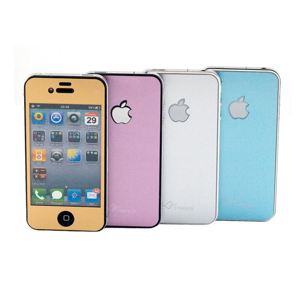 Take91 Supreme Metal iPhone4/4S金屬質感保護貼