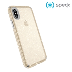 Speck Presidio 金色水晶 iPhone X 防摔保護殼