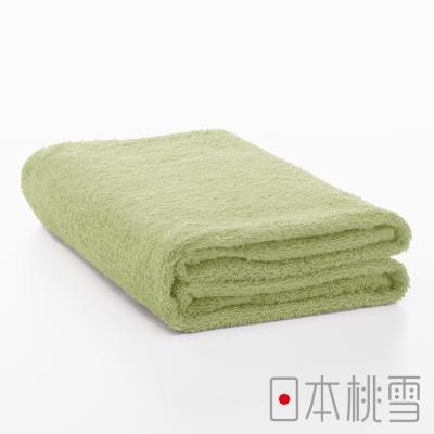 日本桃雪居家浴巾(綠色)