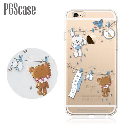 PGS iPhone6s / 6 PLUS 5.5吋 奧地利彩鑽手機殼-玩偶熊