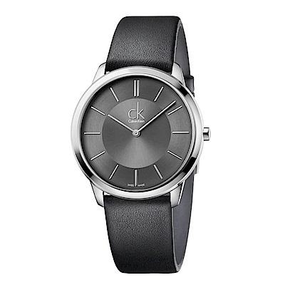 CK CALVIN KLEIN Minimal系列時尚手錶-40mm