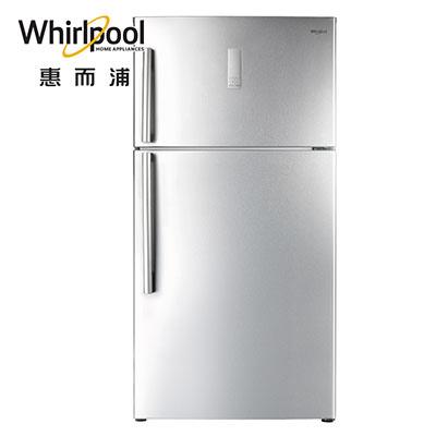 Whirlpool惠而浦570L鈦金鋼上下門冰箱 WIT2590G