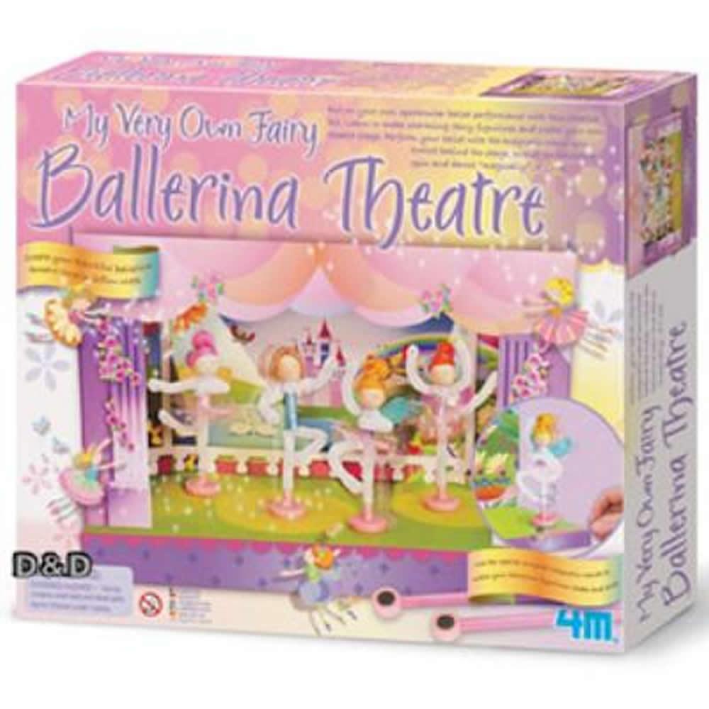 《4M美勞創作》My Very Own Ballerina Theatre 童話芭蕾劇院