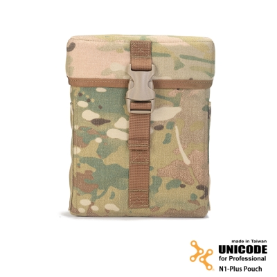 UNICODE N1-Plus Pouch MultiCam 迷你特式置物袋-多地型迷彩
